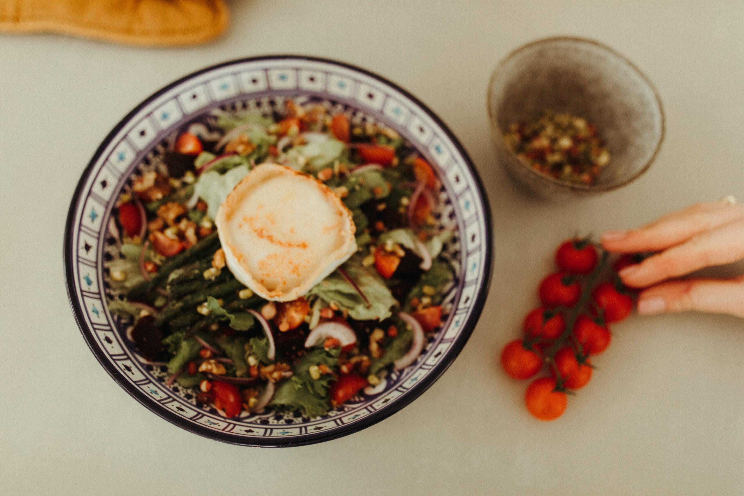 Geitenkaas salade